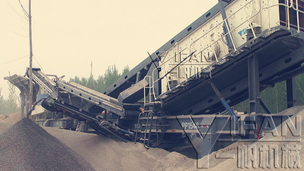 Mobile construction waste disposal equipment