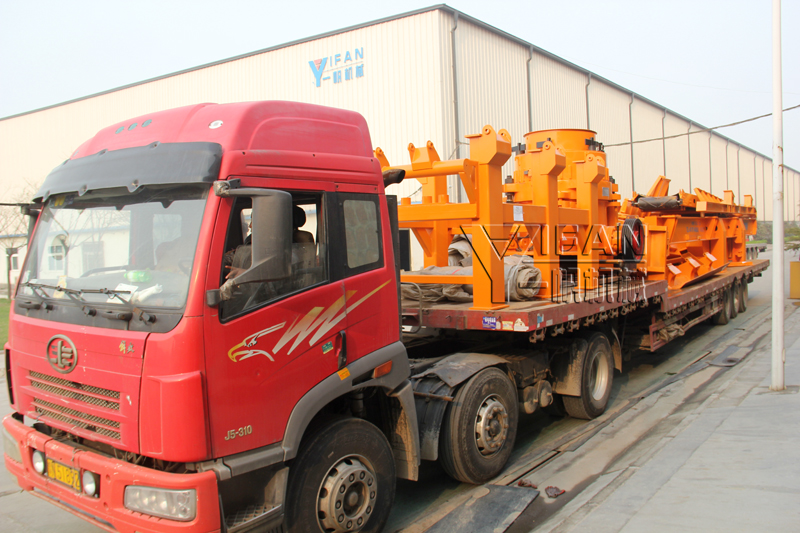 YIFAN Machinery Mobile Cone Crushing Plant was Sent to Sri Lanka