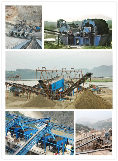 River gravel sand production line - Zhengzhou Yifan Machinery Co., Ltd.