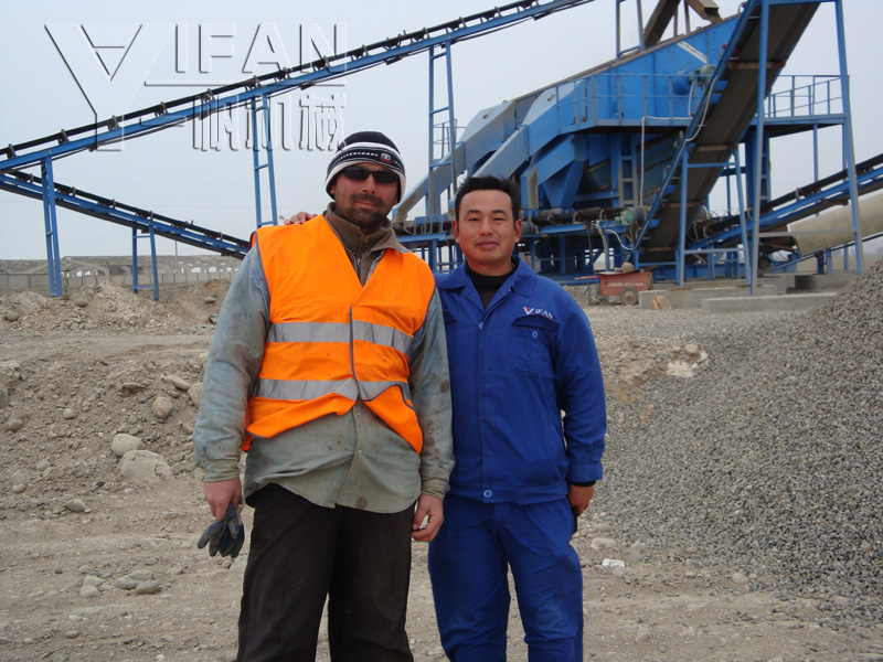 Russia crusher after-sales service