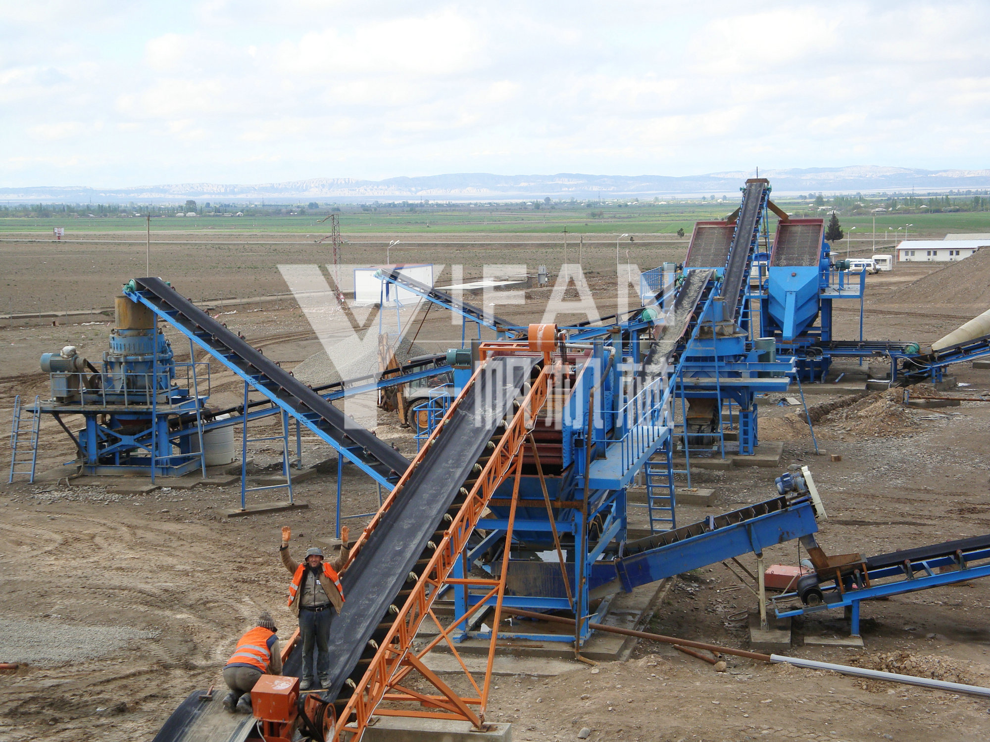 Yifan Machinery for customers to design the most economical and reasonable stone production line solutions