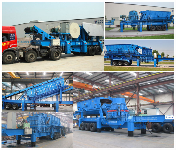 Mobile Stone Crusher, Mobile Crusher, Mobile Stone Crushers -- Yifan Machinery