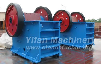 Safety analysis yifan machinery jaw crusher